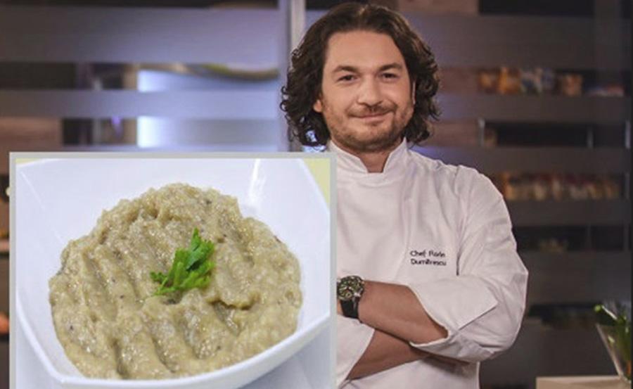 Cum sa faci cea mai buna salata de vinete dupa reteta celebrului Chef Florin Dumitrescu