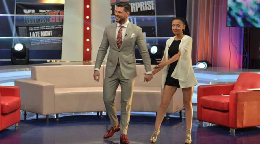 Victor Slav şi Andreea Mantea formează un cuplu? O persoană din anturaj a spus asta