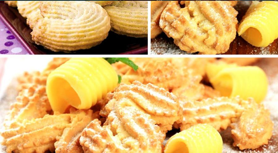 Biscuiţi de casă şpriţaţi – fragezi, delicioși și aromați