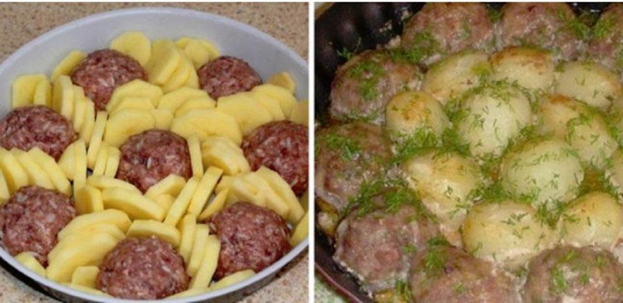 O cină delicioasă pentru întreaga familie, cu doar 200 g de carne tocată – Simplu, rapid şi săţios