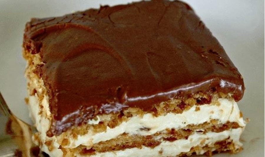Această prăjitură este un vis. Așa se numește, vis! E gata în cateva minute, fără coacere