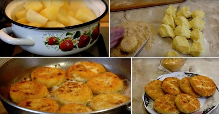 Daca ai cartofi si branza in casa, poti face o mancare satioasa