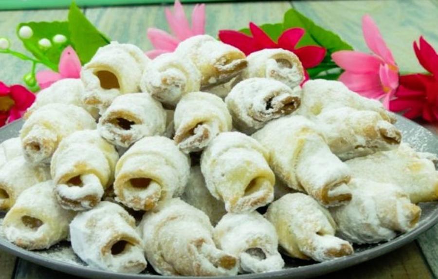 Cornulete fragede cu bors: Fragede si aromate