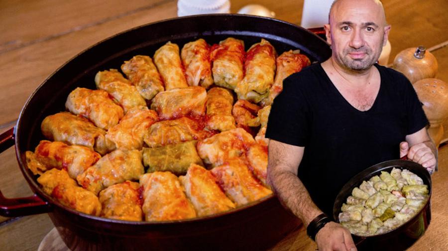Sarmale după rețeta lui Chef Cătălin Scărlatescu