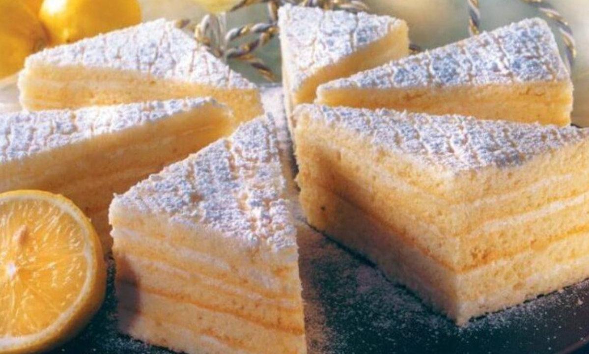 Cu drag vă scriu rețeta – Prăjitura cu lămâie