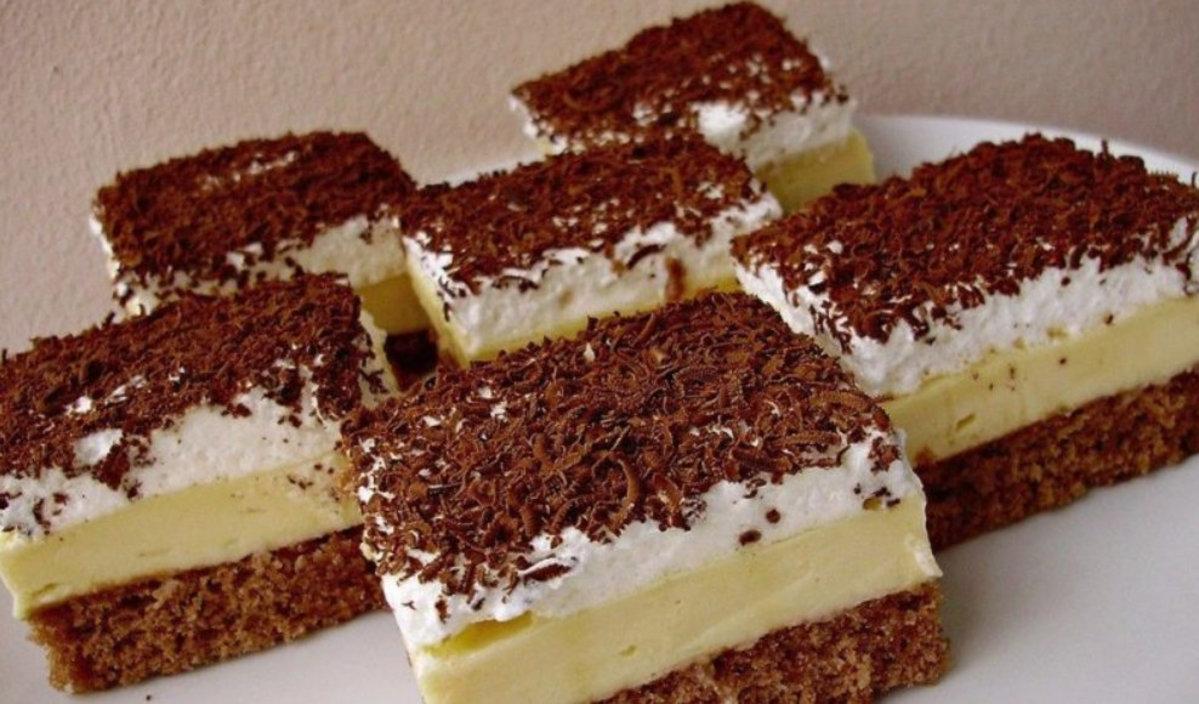 Prăjitura Înghețată falsă, un dulce cu adevărat divin – Se prepară ușor, este cremoasă și răcoritoare