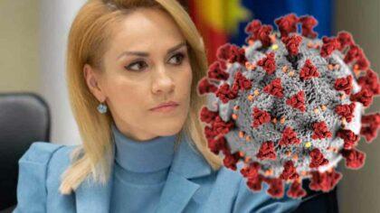 Gabriela Firea, infectata cu COVID-19:...